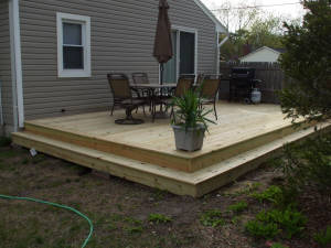 Low cost decks for Low price decking